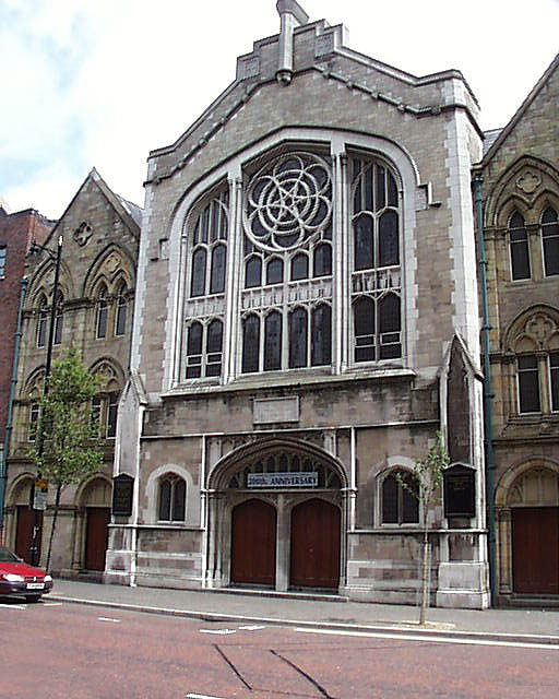 1860 &#8211; Donegall Street Congregational Church, Belfast