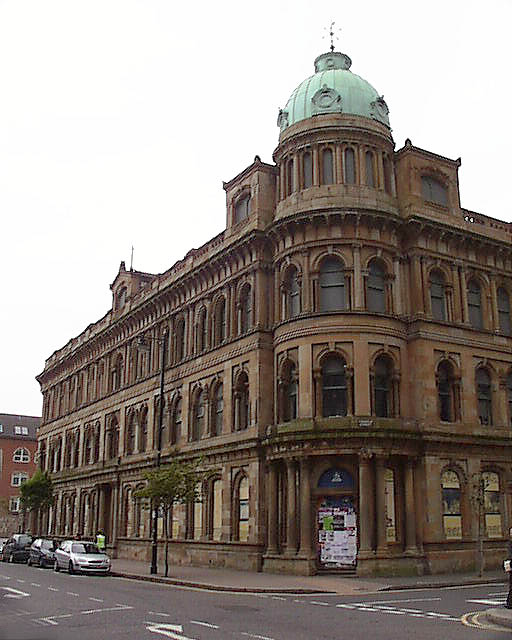 1867 &#8211; Ewart&#8217;s Warehouse, Bedford Street, Belfast