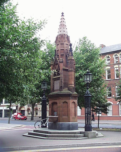 1885 – Thomas Thompson Memorial Fountain, Belfast