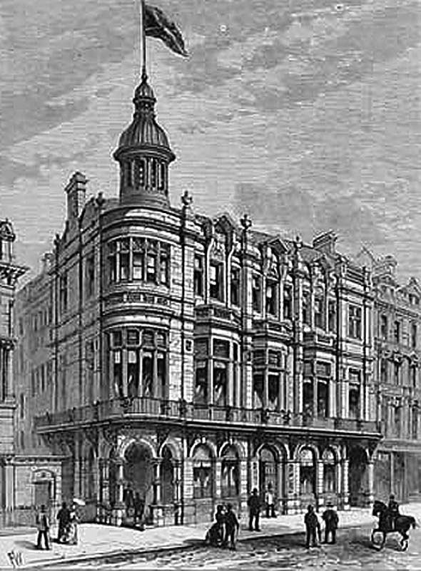 1884 &#8211; Ulster Reform Club, Royal Avenue, Belfast