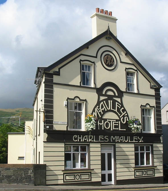 1912 &#8211; McAuley&#8217;s Hotel, Carnlough, Co. Antrim