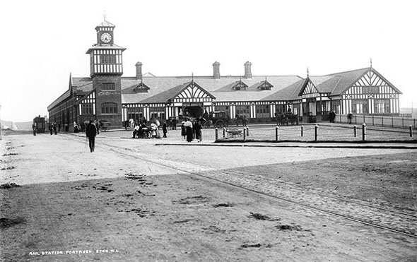 1893 &#8211; Portrush Railway Station, Co. Antrim