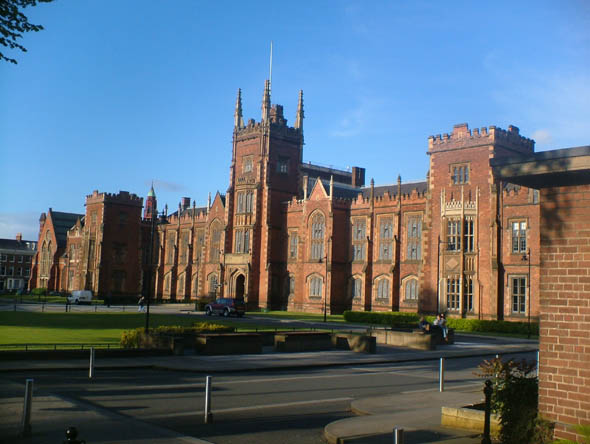 1849 – Lanyon Building, Queen's University Belfast
