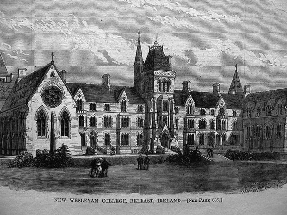 1868 &#8211; Methodist College, Belfast
