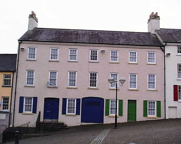 18th C. – Market Square Houses, Armagh, Co. Armagh