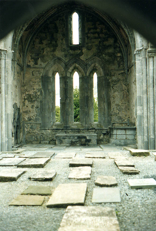1195 – Corcomroe Abbey, Ballyvaughan, Co. Clare