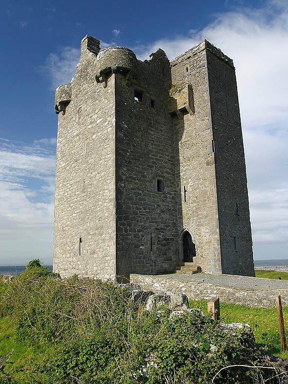 1600 &#8211; Gleninagh Castle, Co. Clare
