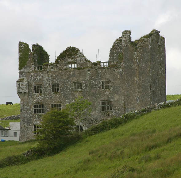1640 – Lemenagh Castle, Co. Clare