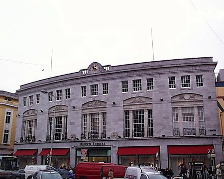 1925 – Brown Thomas, St. Patrick's Street, Cork