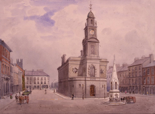 1859 &#8211; Town Hall, Coleraine, Co. Derry