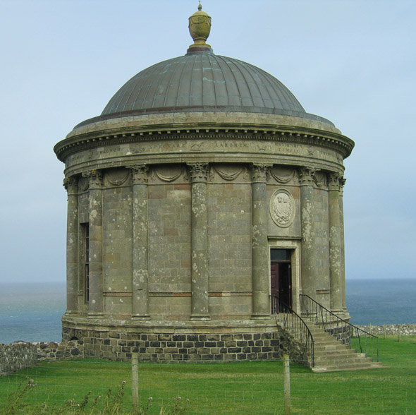 1785 – Mussenden Temple, Co. Derry