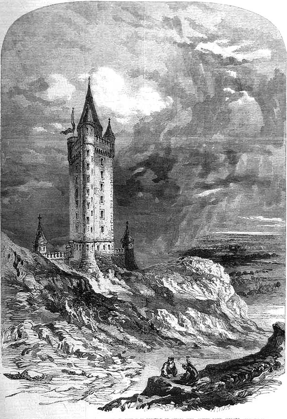 1857 &#8211; Scrabo Tower, Newtownards, Co. Down
