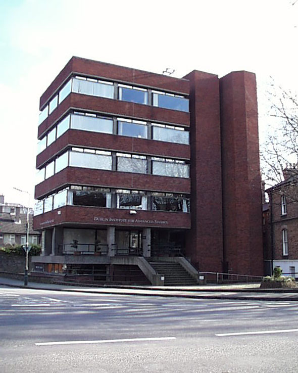 1971 – Dublin Institute for Advanced Studies, Burlington Road, Dublin