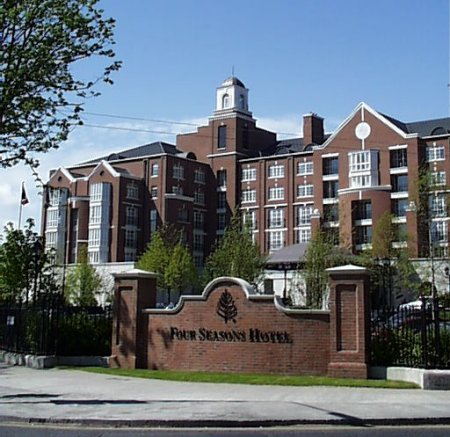 2001 – Four Seasons Hotel, Merrion Road, Dublin