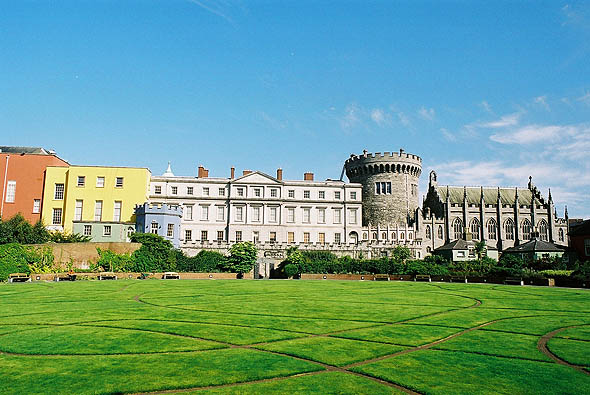 1830 &#8211; Garden Front, Dublin Castle