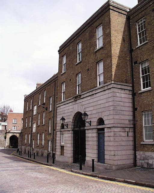 1811 &#8211; Ship Street Barracks, Dublin Castle