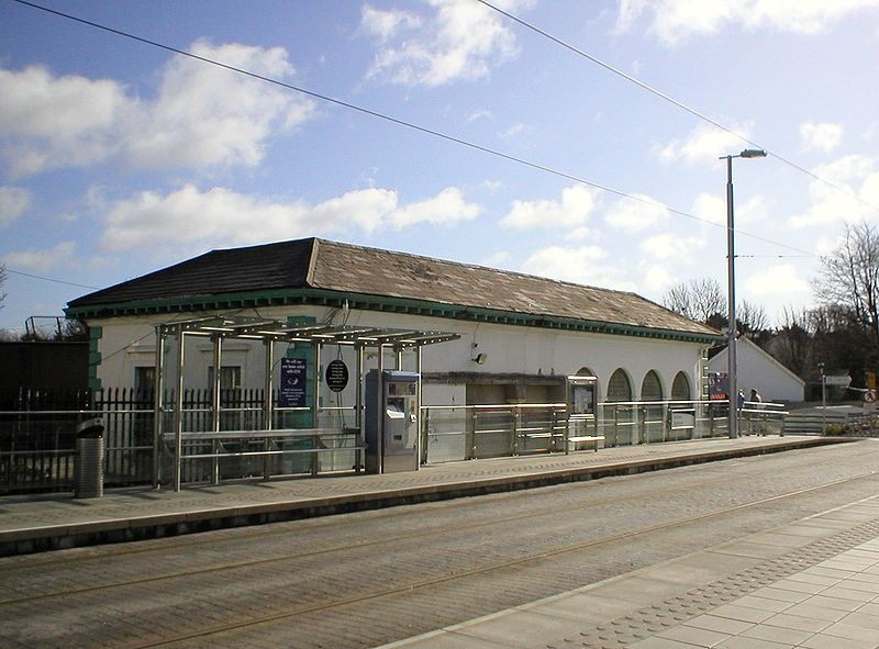1854 &#8211; Railway Station, Dundrum, Co. Dublin