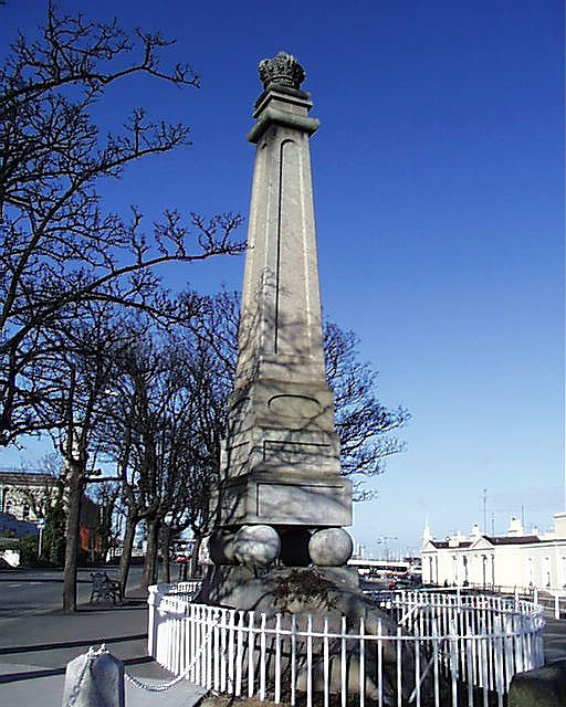 1821 – King George IV Monument, Dun Laoghaire, Co. Dublin