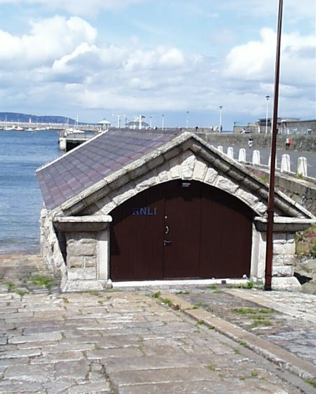 1861 &#8211; RNLI Boathouse, Dun Laoghaire, Co. Dublin