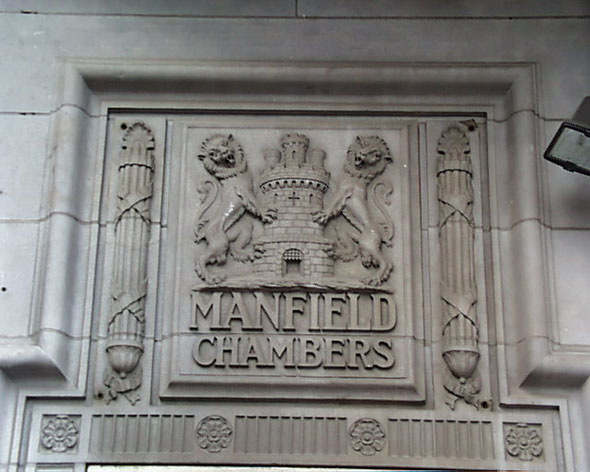 1917 &#8211; Manfield Chambers, Abbey Street, Dublin