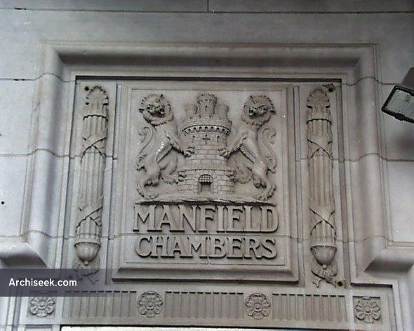 1917 – Manfield Chambers, Abbey Street, Dublin