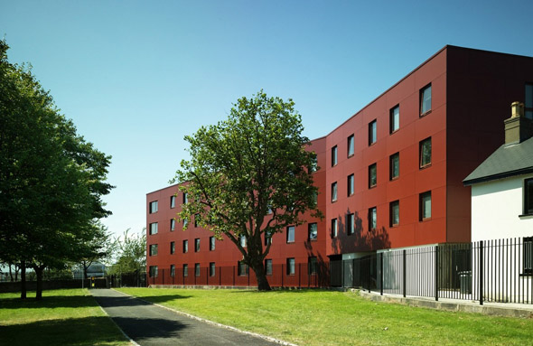 2007 &#8211; Broadstone Hall Student Residences, Dublin