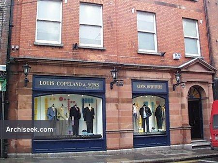 1899 – Louis Copeland, Nos. 40-41 Capel Street, Dublin