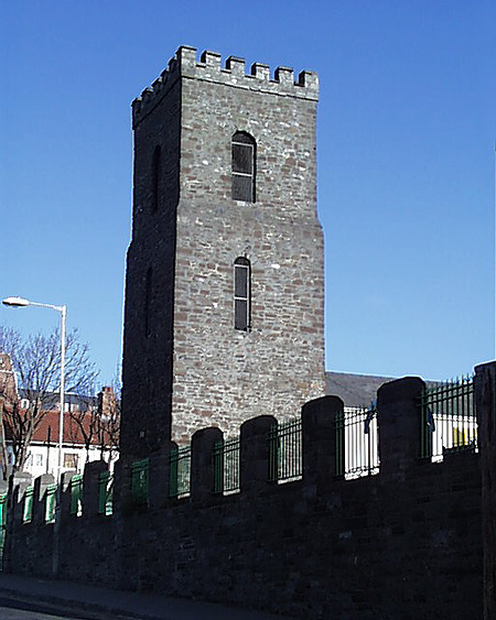 1714 &#8211; St George&#8217;s Church Tower, Hill Street, Dublin