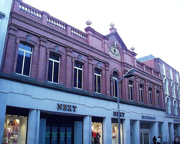 1911 – Former Todd Burns, Mary Street, Dublin