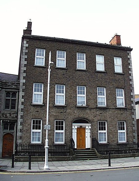1851 &#8211; St. Michan&#8217;s Presbytery, Halston Street, Dublin