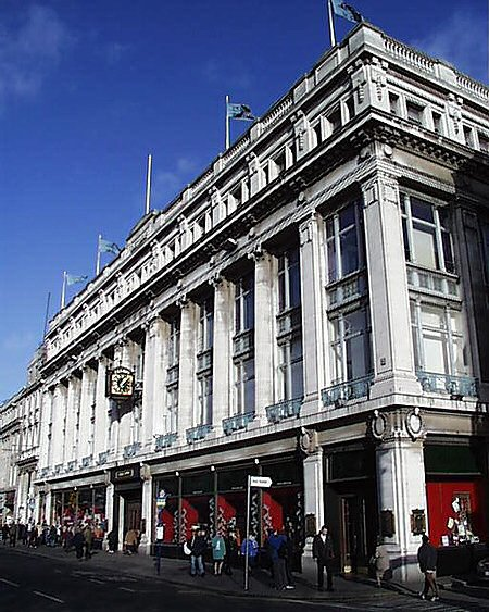 1920 – Clery's Department Store, O'Connell Street, Dublin