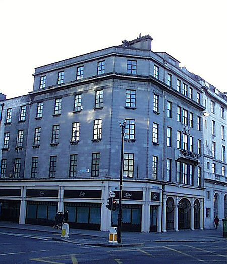 1925 – No.23 Upper O'Connell Street, Dublin