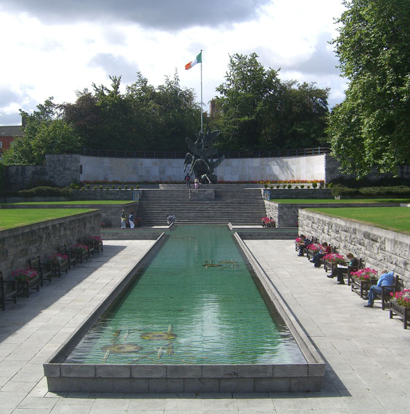 1966 – Garden of Remembrance, Parnell Square, Dublin