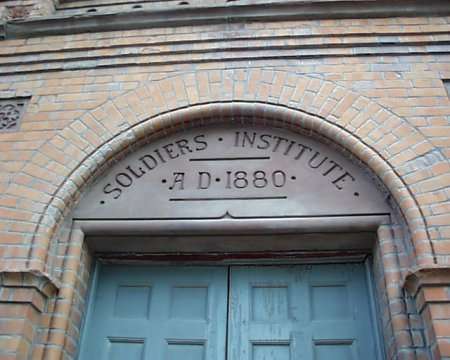 1880 – Soldier's Institute, Conyngham Road, Dublin