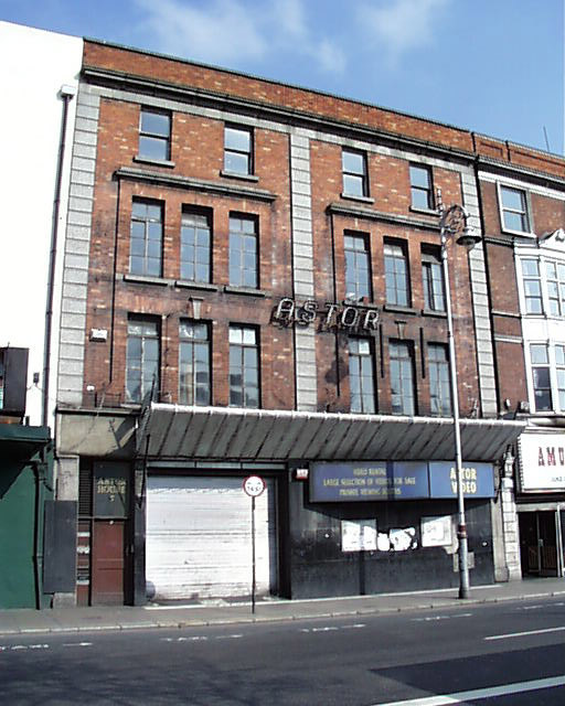 1921 &#8211; Former Astor Cinema, Eden Quay, Dublin