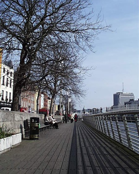 2001 &#8211; Boardwalk, Liffey Quays, Dublin