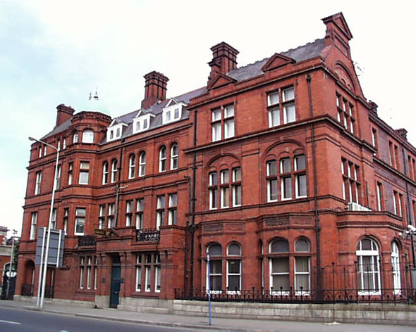 1884 &#8211; Former London and North Western Hotel, North Wall Quay, Dublin