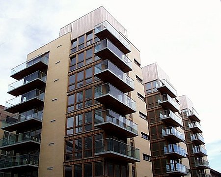 2002 &#8211; Clarion Quay Apartments, North Wall Quay, Dublin