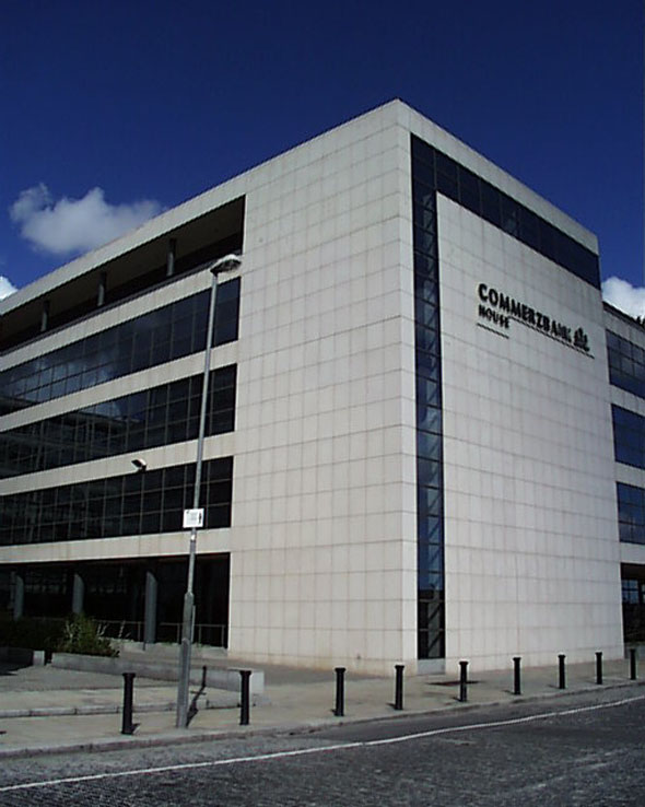 2000 – Commerzbank, North Wall Quay, Dublin