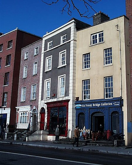 1760s – Hapenny Bridge Galleries, No.15 Bachelors Walk, Dublin