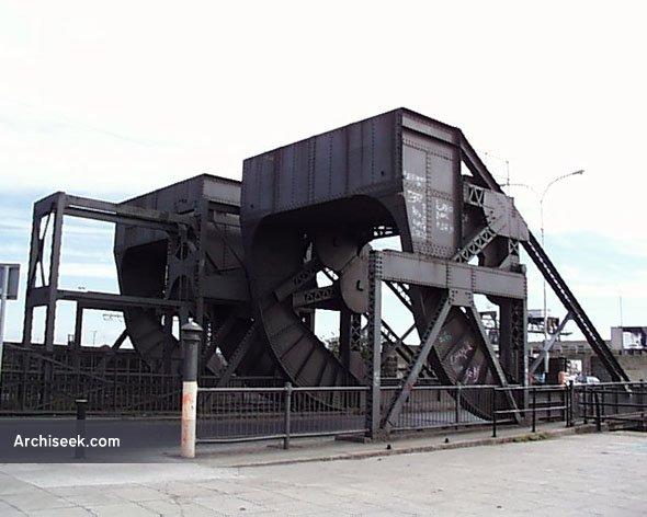 1912 – Scherzer Bridges, North Wall Quay, Dublin