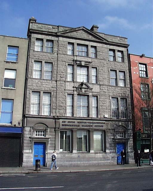 1892 &#8211; Mercantile Seaman Office, Eden Quay, Dublin