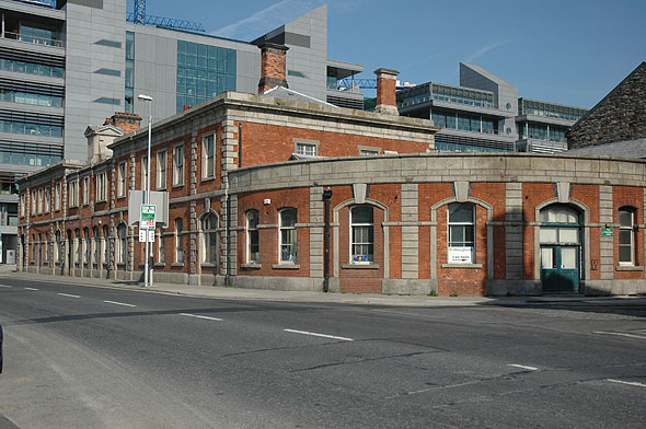1861 &#8211; Former Railway Station, North Wall Quay, Dublin