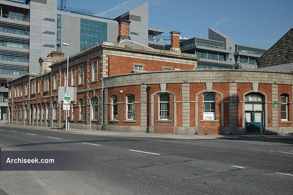 1861 – Former Railway Station, North Wall Quay, Dublin