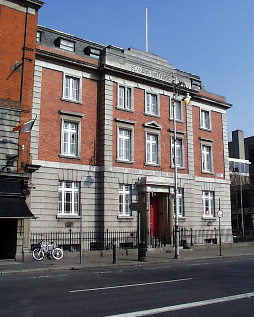 1921 &#8211; Seamens Institute, Eden Quay, Dublin