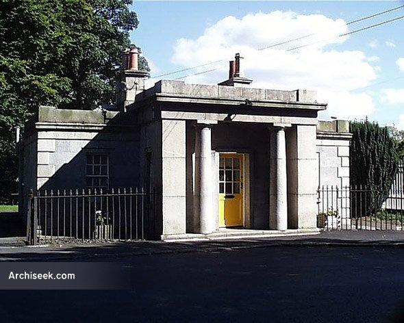 1833 – Chapelizod Gate Lodge, Phoenix Park, Dublin