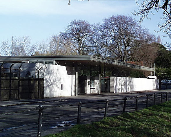 1999 &#8211; Dublin Zoo Entrance, Phoenix Park, Dublin