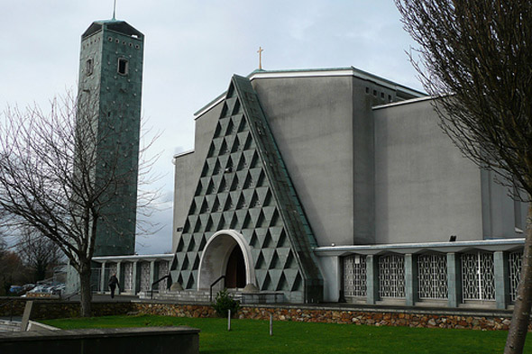 1962 &#8211; Church of our Lady Mother of Divine Grace, Raheny, Co. Dublin
