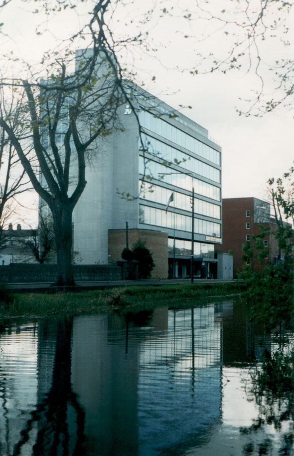 1964 &#8211; Irish Nationwide Headquarters, Grand Parade, Dublin