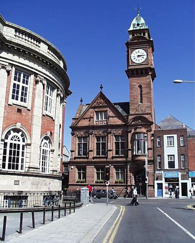 1896 &#8211; Former Rathmines Town Hall, Dublin
